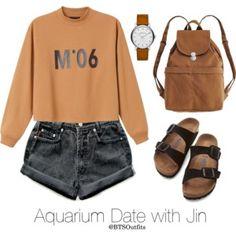 Aquarium Date with Jin