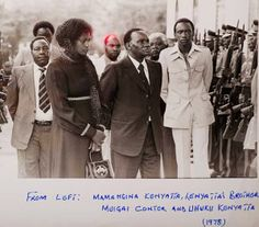 1978, FAREWELL TO MZEE