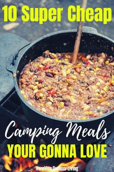 10 Cheap Camping Meals To Satisfy The Most Whole Camping Crew Backpacking Food, Camping Meals, Camping Cheap, Van Camping, Camping Recipes, Camping Stuff, Camping Tips, Cheap Travel, Easy Food To Make