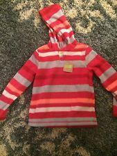 CRAZY EIGHT Pull Over Fleece Jacket Children's Sz 5-6 NWT Never Worn Girl Winter