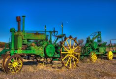 Old Tractor John by Victor Puga, via 500px