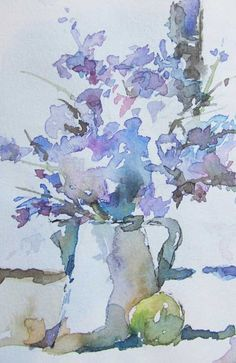 Enchanting Watercolor Flowers With Sandy Holtzman