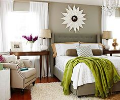 Decorate Your Bedroom for Less - 8 Tips -  Employ these money-mindful decor tricks to give every bedroom a personality boost.