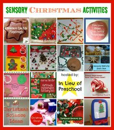 15 Sensory Christmas Activities kids will LOVE!