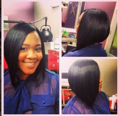 I will try this bob as a sew in on me long in front short in the back