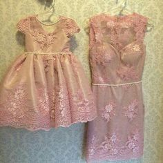 Cute Little Girls Outfits, Mommy And Me Outfits, Girl Outfits, Fashion Kids, Girl Fashion, Little Girl Dresses, Girls Dresses, Flower Girl Dresses, Pretty Dresses
