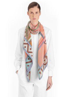 Cashmere Silk Scarf - Cashmere Silk Honey Black by VIDA VIDA qUS2l