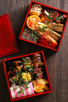 New-Year Festivity/おせち料理 Osechi Ryori Japanese New Year Food, Japanese Lunch, New Year's Food, Love Food, Asian Recipes, Ethnic Recipes, Yummy Food, Tasty, Food Packaging Design