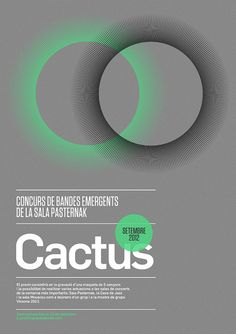 Cactus Festival by MARIN DSGN, via Flickr