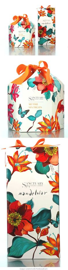 Here's a better look at the very popular Sanctuary Spa #packaging PD  PD