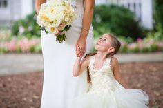 The cutest little flower girl ballerina! #cedarwoodweddings Tennessee Destination Wedding | Cedarwood Weddings