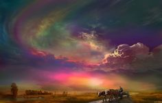 """""""Home Ride"""" by Igor Zenin Church Pictures, Great Pictures, Sunset Wallpaper, Nature Wallpaper, Free Sky, Heavenly Places, Picture Places, Buy Prints, Beautiful World"""