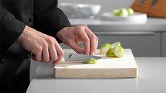 Brug af knive | kniv viden | MIYABI Sashimi, Plastic Cutting Board, Knifes, Cooking