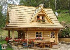Casă din lemn de 52 mp pentru vacanță