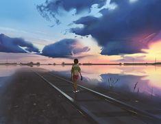 Ogino Chihiro - Sen to Chihiro no Kamikakushi - Image - Zerochan Anime Image Board Chihiro Y Haku, Concept Art World, Studio Ghibli Art, Ghibli Movies, Spirited Away, Miyazaki, Anime Scenery, Pretty Art, Beautiful Artwork