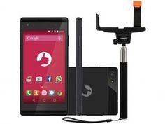 Smartphone  Selfie S455 8GB Dual Chip 3G - Câm. 5MP com Bastão de Selfie  de R$ 599,90 por R$ 419,90  R$ 33,59 em até 4x de R$ 104,97 sem juros no cartão de crédito  ou R$ 390,51 à vista