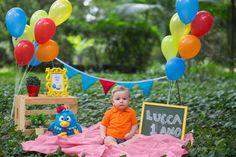 1st Birthday Decorations, Birthday Backdrop, Birthday Party Themes, Happy Birthday Baby Girl, Mickey Mouse 1st Birthday, 3rd Birthday Pictures, Outdoor Cake Smash, Birthday Party Photography, Outdoor Birthday