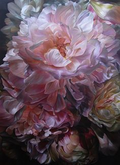 """Saatchi Art is pleased to offer the painting, """"Heart Strings_Florence Dec by Marcella Kaspar. Original Painting: Oil on N/A. Art Floral, Poster Mural, Botanical Art, Beautiful Paintings, Art Oil, Love Art, Painting Inspiration, Amazing Art, Beautiful Flowers"""