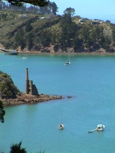 Copper mine ruins, Kawau Island Bay Of Islands, Auckland, East Coast, Family History, Dna, New Zealand, Beaches, Copper, Waves
