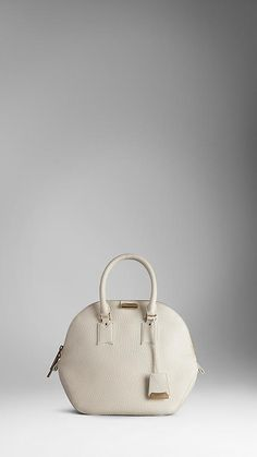 abccd9882c6c The Medium Burberry Orchard in Heritage Grain Leather Bowling Bags