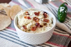 Jalapeno Bacon Dip - Labor Day BBQ - everyone loved this
