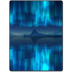 Shower Curtain 66 X 72 Inch Alpine Reflection Beautiful Scenery Art Printing Polyester Fabric