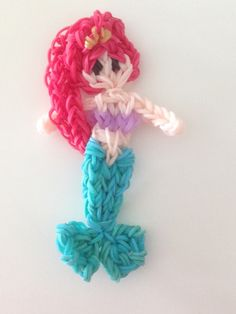 Rainbow loom Disney Princess Ariel