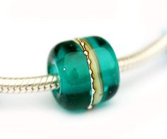 Teal+Lampwork+glass+bead+large+holed++Ocean+color++by+MayaHoney,+$9.50