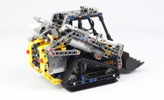 Compact Tracked Loader by Lego Mindstorms, Lego Technic, Awesome Lego, Cool Lego, Lego Track, Lego Gears, Lego Village, Lego Ship, Lego Builder