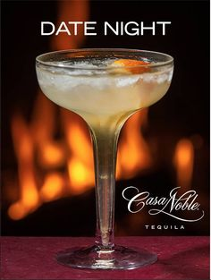 Things are getting serious... #tequila #cocktails #casanoble #datenight