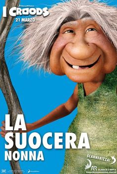 #ICroods Character poster La suocera Nonna