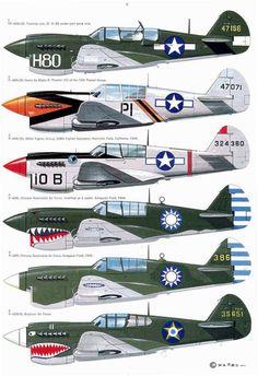 07 Curtiss P-40D-N Warhawk