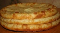 Ossetian pies with meat, with potatoes and Suluguni / Culinary Universe Dog Cake Recipes, Dog Food Recipes, Cooking Recipes, Hungarian Recipes, Russian Recipes, Georgian Food, Dog Cakes, Savoury Baking, Snacks