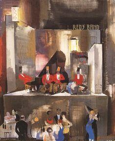 Red's Band  by Vilmos Aba-Novák