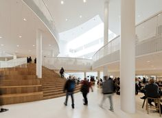 Adult education centre by CEBRA inspired by Mickey Mouse