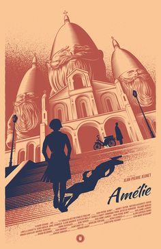 AMÉLIE Movie Poster on Behance