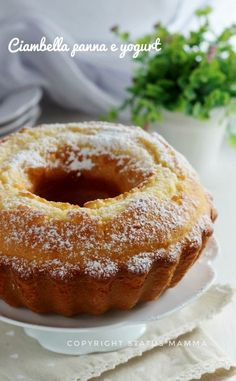 Vegan Gains, Confort Food, Yogurt Cake, Dessert Cake Recipes, Almond Cakes, Eat Dessert First, Coffee Cake, Vegan Desserts, No Bake Cake