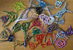 Mizuhiki How To | ... adding a Mizuhiki knot it makes them that bit special and individual
