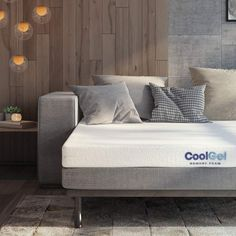 Classic Brands Cool Gel Memory Foam Replacement Mattress for Sleeper Sofa Bed Bunk Bed Mattress, Full Mattress, Pillow Top Mattress, Best Mattress, Tufted Bed Frame, Full Headboard, Bookcase Headboard, Foam Sofa Bed, Queen Platform Bed