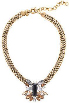 Piled stone necklace     http://popsu.gr/ovAe