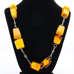 Polished Genuine Baltic Amber Necklace