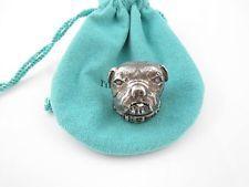 Tiffany & Co RARE Silver Dog Pill Box Container Case! Ebay  $898