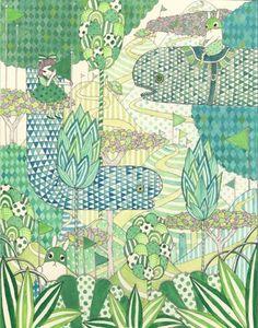 "Yoko Furusho - Camouflage ""Green"""