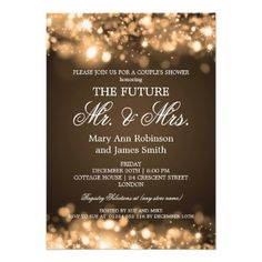 "Top 10 ""Mr & Mrs"" #Wedding Shower / Rehearsal Dinner Invitations at wowpartyinvites.com"