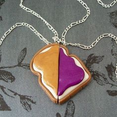 PB  best friends necklace <3  @Megan Ward Snyder
