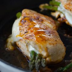 Asparagus Stuffed Chicken Breast by Tasty dinner asparagus Asparagus Stuffed Chicken Breast Recipe by Tasty Chicken Asparagus, Asparagus Recipe, Chicken Stuffed With Asparagus, Roasted Chicken, Weight Loss Meals, Split Chicken Breast, Chicken Breasts, Catering, Proper Tasty