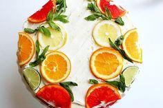 OMG!!! LOVE    Citrus Cake with Lemon Curd Filling and Orange Lemon Icing (a.k.a. Stella Cake)