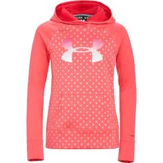 Under armour® girls& coldgear® printed big logo armour® fleece hood Under Armour Outfits, Nike Under Armour, Under Armour Girls, Sporty Outfits, Athletic Outfits, Athletic Wear, Cute Outfits, Oufits Casual, Fleece Hoodie