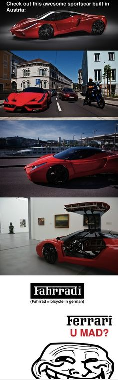 Awesome sports car from Austria