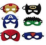 12 Pieces Superheroes Party Fun Cosplay Felt Masks For Boys Girls – Birthday Party Shop Avenger Party, Costume Birthday Parties, Birthday Party Favors, Superhero Theme Party, Party Characters, Superhero Cosplay, Girl Themes, Mask Party, Marvel